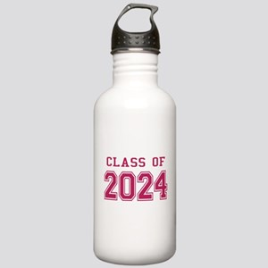 Class of 2024 (Pink) Stainless Water Bottle 1.0L