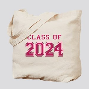 Class of 2024 (Pink) Tote Bag