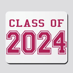Class of 2024 (Pink) Mousepad