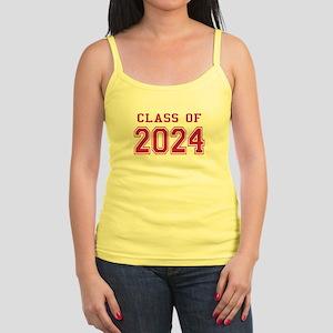 Class of 2024 (Pink) Jr. Spaghetti Tank