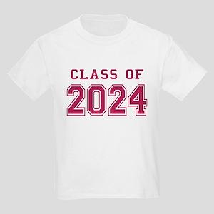Class of 2024 (Pink) Kids Light T-Shirt