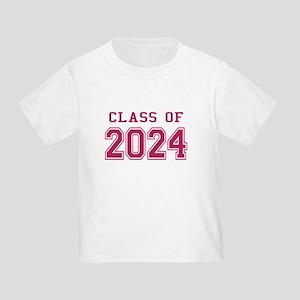 Class of 2024 (Pink) Toddler T-Shirt