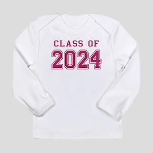 Class of 2024 (Pink) Long Sleeve Infant T-Shirt