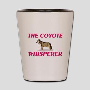 The Coyote Whisperer Shot Glass