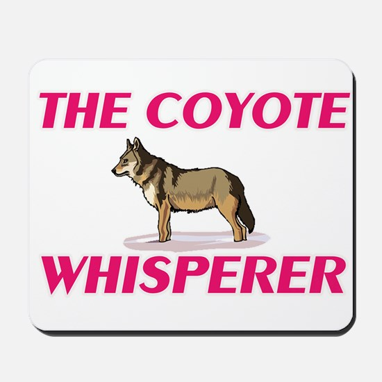 The Coyote Whisperer Mousepad