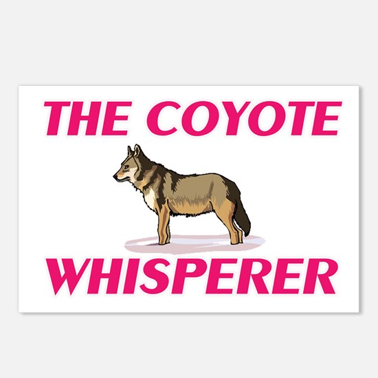 The Coyote Whisperer Postcards (Package of 8)
