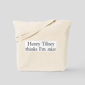 Henry Tilney Tote Bag