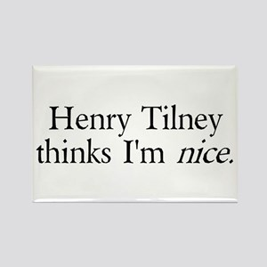 Henry Tilney Rectangle Magnet