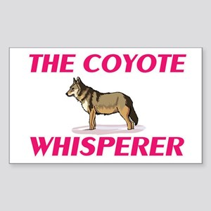 The Coyote Whisperer Sticker