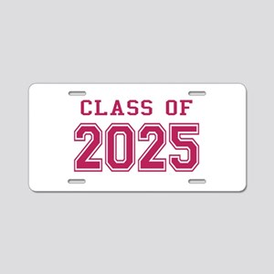 Class of 2025 (Pink) Aluminum License Plate