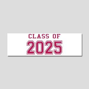 Class of 2025 (Pink) Car Magnet 10 x 3