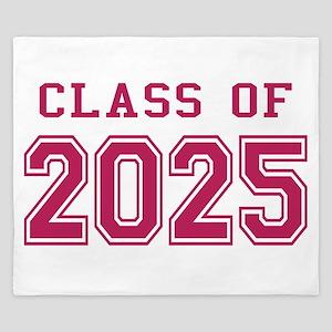 Class of 2025 (Pink) King Duvet
