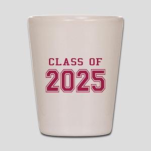 Class of 2025 (Pink) Shot Glass