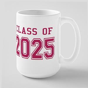 Class of 2025 (Pink) Large Mug