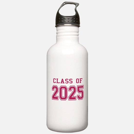 Class of 2025 (Pink) Water Bottle