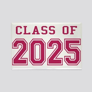 Class of 2025 (Pink) Rectangle Magnet