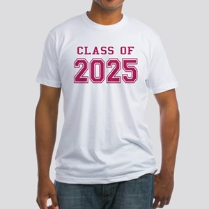 Class of 2025 (Pink) Fitted T-Shirt