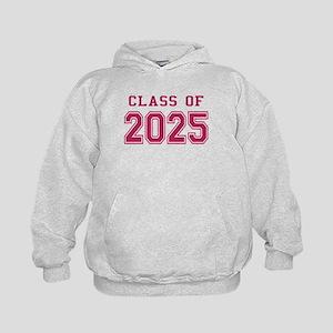 Class of 2025 (Pink) Kids Hoodie