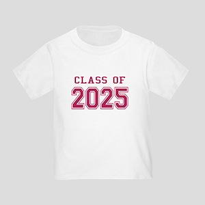Class of 2025 (Pink) Toddler T-Shirt