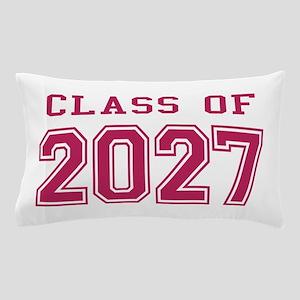 Class of 2027 (Pink) Pillow Case