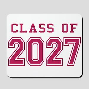 Class of 2027 (Pink) Mousepad