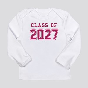 Class of 2027 (Pink) Long Sleeve Infant T-Shirt