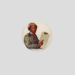 Sequoyah, The Cherokee Scholar Mini Button