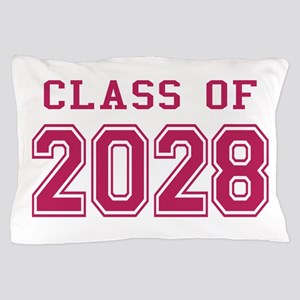 Class of 2028 (Pink) Pillow Case