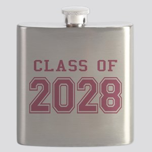 Class of 2028 (Pink) Flask