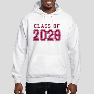 Class of 2028 (Pink) Hooded Sweatshirt