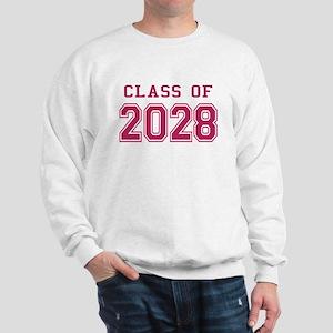 Class of 2028 (Pink) Sweatshirt