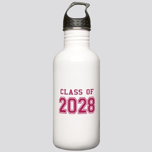 Class of 2028 (Pink) Stainless Water Bottle 1.0L