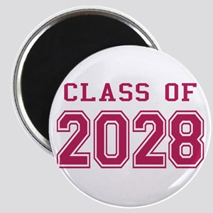 Class of 2028 (Pink) Magnet