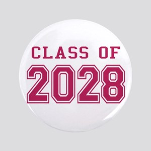 "Class of 2028 (Pink) 3.5"" Button"
