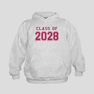 Class of 2028 (Pink) Kids Hoodie