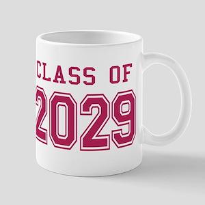 Class of 2029 (Pink) Mug