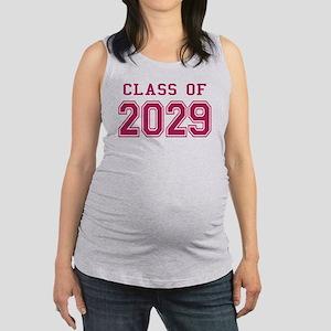 Class of 2029 (Pink) Maternity Tank Top