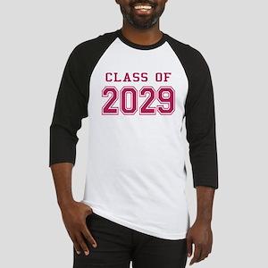 Class of 2029 (Pink) Baseball Jersey