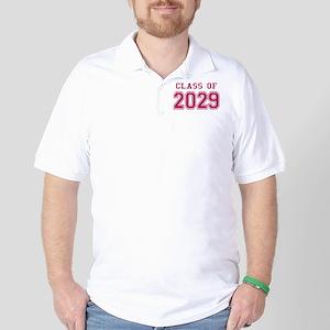 Class of 2029 (Pink) Golf Shirt