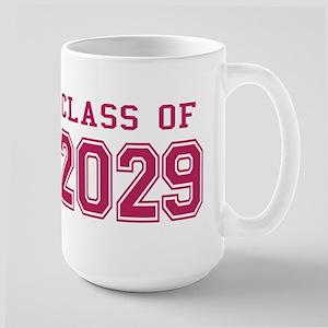 Class of 2029 (Pink) Large Mug
