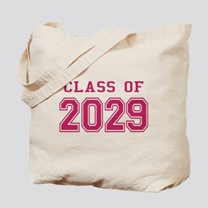 Class of 2029 (Pink) Tote Bag