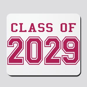 Class of 2029 (Pink) Mousepad