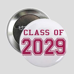 "Class of 2029 (Pink) 2.25"" Button"