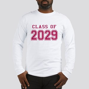 Class of 2029 (Pink) Long Sleeve T-Shirt