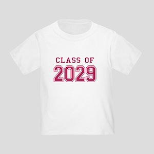 Class of 2029 (Pink) Toddler T-Shirt