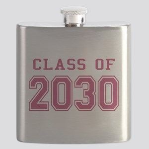 Class of 2030 (Pink) Flask