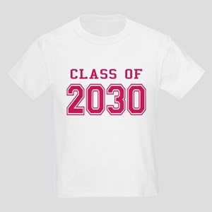 Class of 2030 (Pink) Kids Light T-Shirt