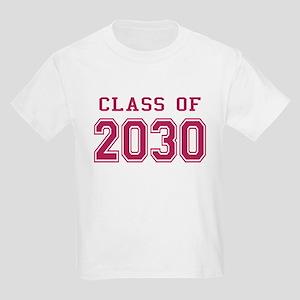 Class of 2030 (Pink) Kids Light T-Shirt