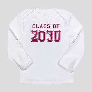 Class of 2030 (Pink) Long Sleeve Infant T-Shirt