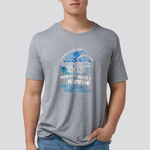 Occupational Therapy Shirt Mens Tri-blend T-Shirt